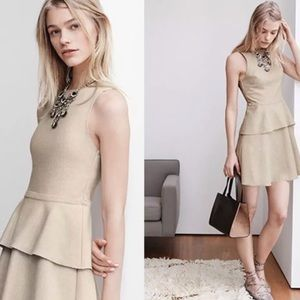 Banana Republic Canvas Peplum Dress